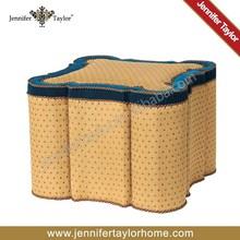 American fabric chair ottoman