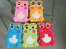 Cute 3D Frog soft silicone back cover case for iPhone5