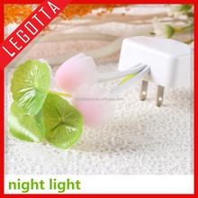 Good promotion mushroom light sensor LED night bed bedroom decoration 3d night light