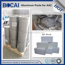 high solid content aluminium powder paste for AAC concrete block ( Autoclaved Aerated Concrete )