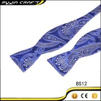 Mens Silk Free Satin Ribbon Self Tie Bowties
