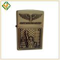 Estatua de la libertad de matel usb recargable encendedor de cigarrillos, diferente modelo más ligero para el mejor regalo