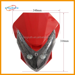 2015 Hot Sale High Quality And Different Colorsr Headlight For Motorcycles For Sale