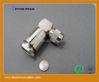 TNC Male Right Angle Clamp L shape Connector For RG213/RG8 coaxial Cable