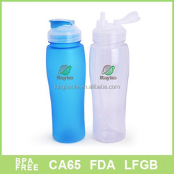 Buy from china plastic water bottle with flip cap wholesale