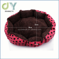 Promotional gifts wholesale high quality soft pet bed , Custom dog bed , Colorful Soft dog bed