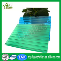 100% raw GE SABIC soundproof pc six-wall sheet for bath linings polycarbonate sheet