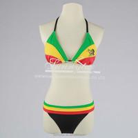 Sunnytex cheap customized triangle bikini swimwear bikini for mature women