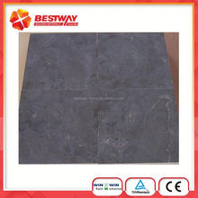 Round Table Top Blue Limestone Material