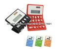 calculadora de silicona; calculadora plegable para