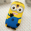 New Arrival Universal Mobile for note3 despicable me silicone case