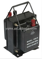 1.5kw hot sale home use step up and down transformer