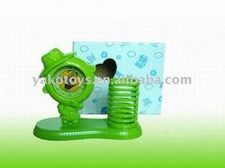 Alarm clock w/ pen vase Y3097590