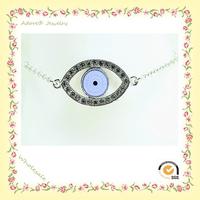 WB150922-1 Yiwu Adore Wholesale Fashion Alloy Turkish Evil Eye Bracelet