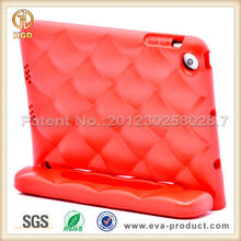 Kids Shock Proof Quilted Design Hot Case for Mini iPad with Stand