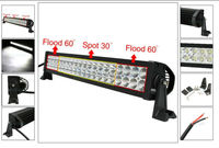 """120w Light Bar Led Cree 22"""" Spot Combo for snow plow truck"""
