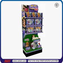 TSD-M366 Supermarket metal shelf display stand/Doll display rack wholesale/display stand for dolls