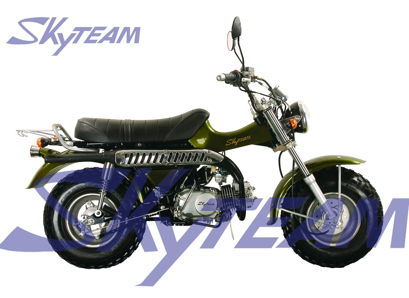 skyteam t rex 125cc 4 tiempos de motocicletas carretera de. Black Bedroom Furniture Sets. Home Design Ideas