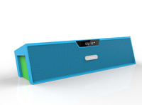 Suport TF card USB FM Radio Alarm Clock mini vision bluetooth speaker