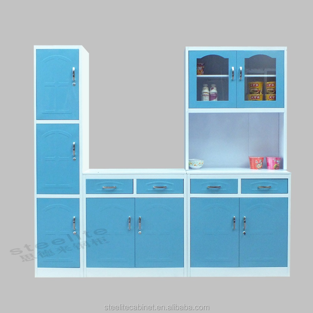 Easy Assembly Steel Godrej Kitchen Cupboard Used Kitchen Cabinets For Sale
