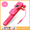 Hot New Products for 2015 Mexico Manufacturer Wired Selfie Stick