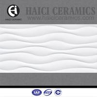 foshan 30x60 3d wave tile models ceramics for kitchen