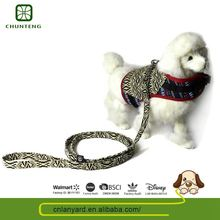 High Standard Various Designs Available Animal Outdoor Dog Pulling Harness
