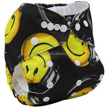 Ohbabyka pocket cloth nappy baby waterproof and eco friendly baby sleepy diapers