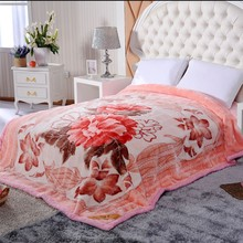 2015 fashionable leopard coral fleece blanket with new pattern