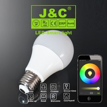 energy-saver bluetooth led bulbs smartphone IOS Android4.0 music group timer dimmable