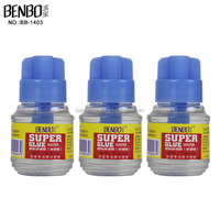 BENBO Manufacturer 65ML PP Box and Color Box Packing Super Glue For sale