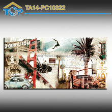 TA14-PC10322 Famous Print Picture On Canvas
