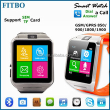 Customized ODM & ODM Brand SIM Android Email FITBO wifi wrist watch cell phone