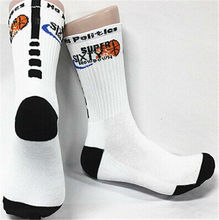 custom wholesale cushioned basketball sports socks