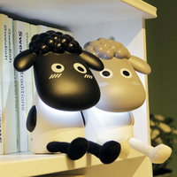 China cute led desk cartoon room battery rechargeable animal lamp