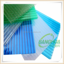 Long duration anti-scratch single & twin wall polycarbonate hollow sheet for sound insulation