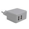 EU/US Dual usb wall charger USB,micro usb wall charger,mobile phone charger travel