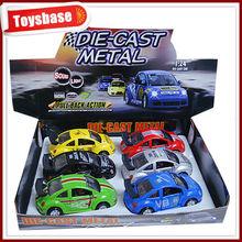 Popular die cast beetle car toy