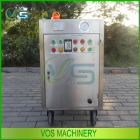 Stainless steel washing car cold weather steam type