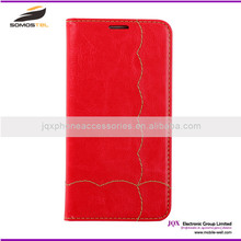 [Somostel] new product leather flip case for sony xperia t2 ultra