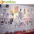 tienda al por menor de ropa interior decoración de la tienda slatwall ganchos