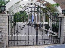 decorativos de hierro forjado puerta diseños