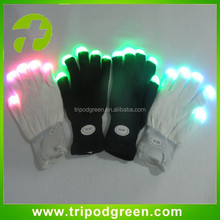 Event & Party Supplies Type and Party and festival,Halloween,Chirstmas,New year,Thanksgiving day Occasion LED Gloves