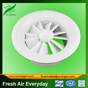 вентиляции вихревой диффузор гибкий вентилятор протока