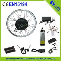 electric bike conversion kit with electric motor for bicycle