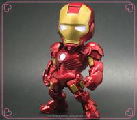 10+ year factory Make Custom Plastic Superhero Ironman action figure