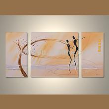 venta al por mayor decorativos hechos a mano de pintura de arte sobre lienzo