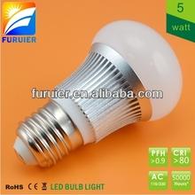 ce rohs saa 5w dimmable E27/ E14/B22 /B15 Samsung cob led bulb manufacturing plant