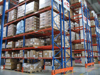 Personalized extra heavy duty load beam rackssteel pipe and stone storage rack with great price