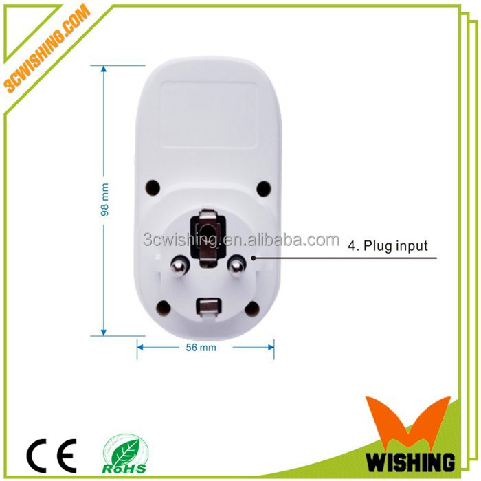 Remote Control Wifi Cell Phone Wireless Switch Timer Smart Power